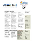 Latest Chamber Newsletter