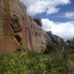 May Day Play Day in Canyon De Penitente
