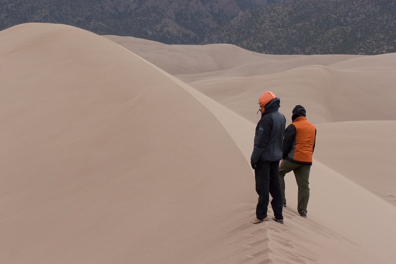Great Sand Dunes hiking