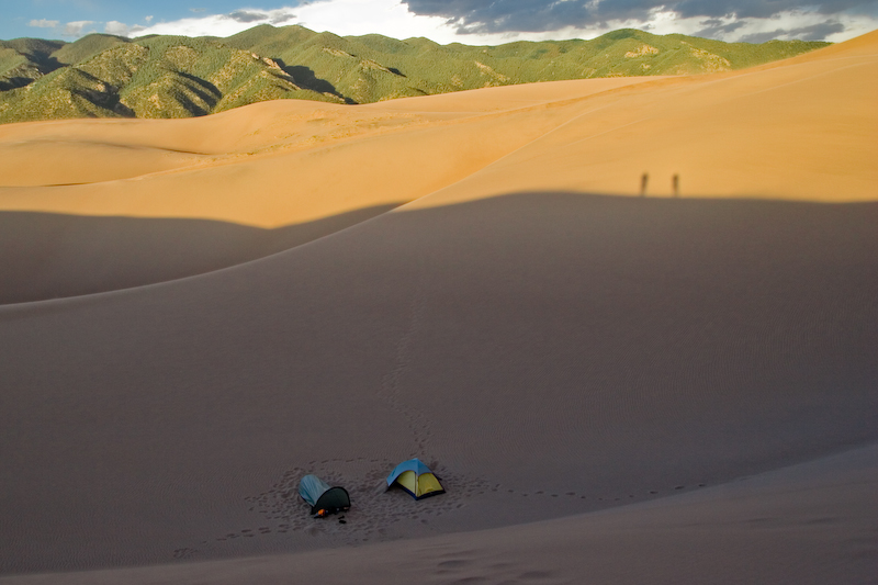 Great Sand Dunes camping