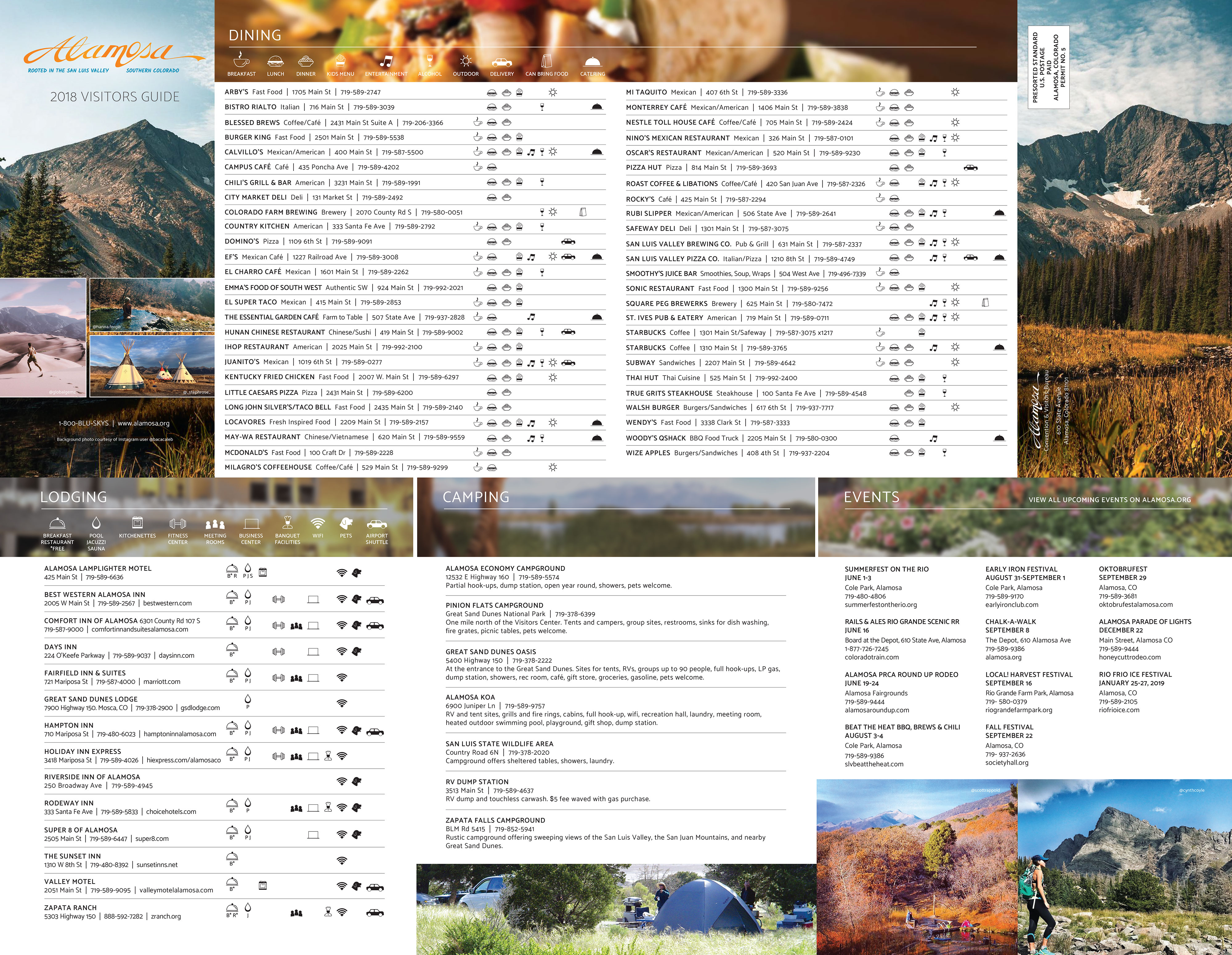 alamosa colorado visitors guide 01