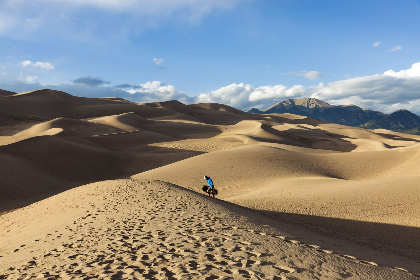 alamosa great sand dunes national park reserve sand boarding 1