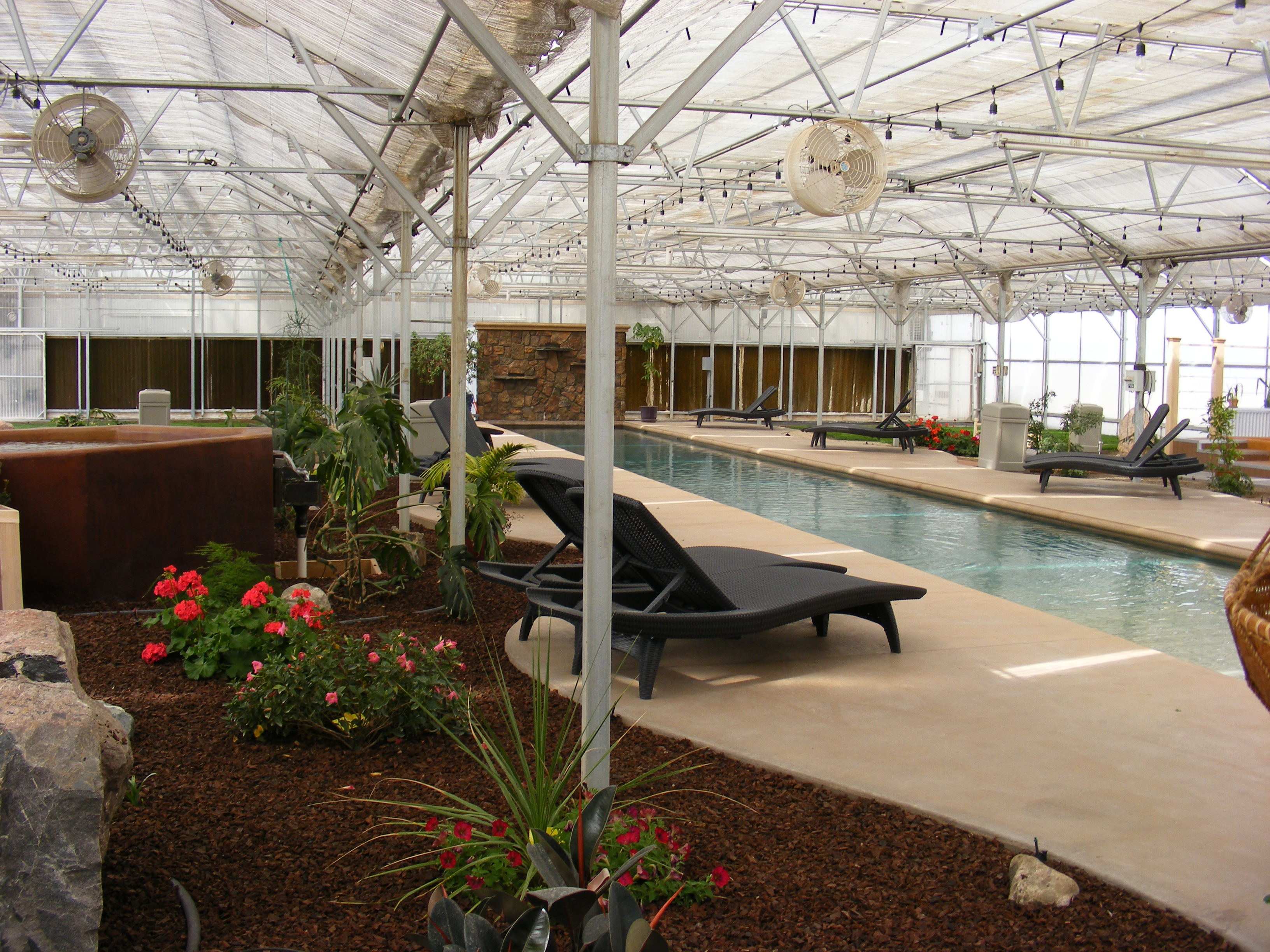 The Greenhouse at Sand Dunes Swimming Pool