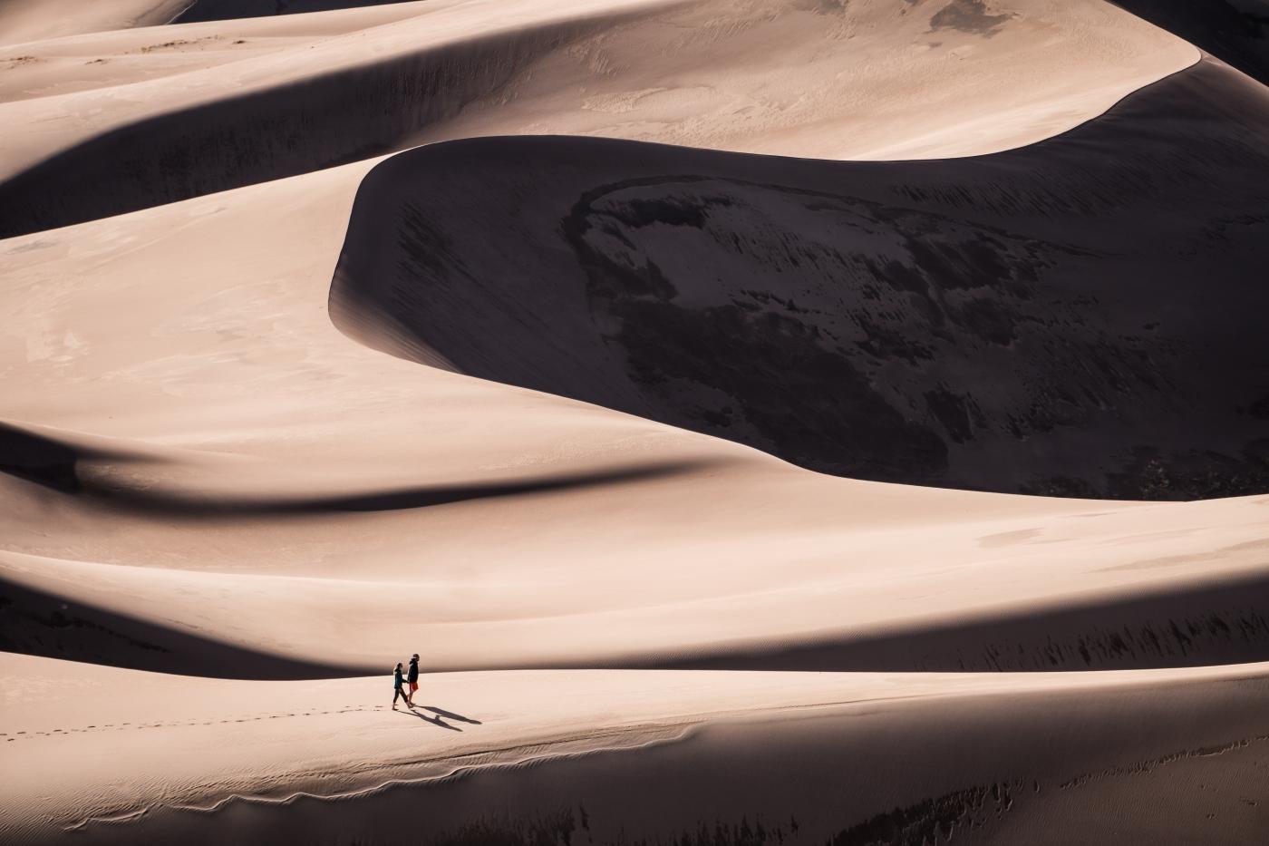 Camping at Sand Dunes