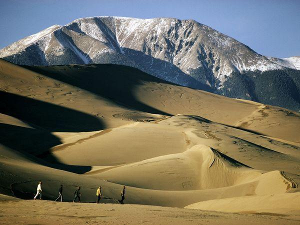 The Great Sand Dunes National Park Preserve
