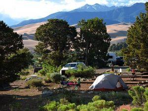 Great Sand Dunes Piñon Flats Campground
