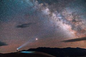 Dark Sky Park, at the Great Sand Dunes National Park