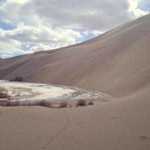 Climbing the Great Sand Dunes